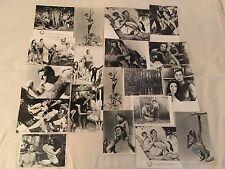 TARZAN TROUVE UN FILS - WEISSMULLER - LOT 19 PHOTOS CINEMA PRESSE