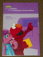 SESAME STREET Little Children Big Challenges Coping With INCARCERATION DVD Book