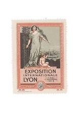 ERINNOPHILIE VIGNETTE EXPOSITION INTERNATIONALE LYON 1914