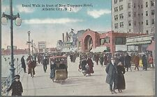 1917 Board Walk in front of the New Trymore Hotel Atlantic City NJ