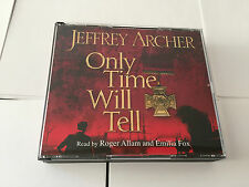 Only Time Will Tell The Clifton Chronicles RARE CD SET Jeffrey Archer Roger Alla
