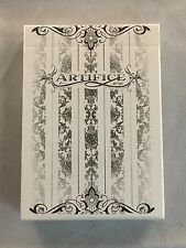 White Tundra Artifice Deck - Ellusionist Playing Cards