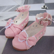 1/4 BJD Shoes MSD Dollfie DOD Hollow out lolita Bow pink Shoes AOD MID EID SOOM