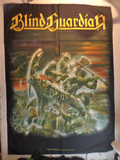 BLIND GUARDIAN   Unused  1999 TEXTILE FLAG POSTER  edguy helloween lp cd t shirt