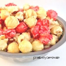 Freedom Snacks STRAWBERRY CHEESECAKE Handcrafted Gourmet Popcorn