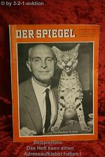 Der Spiegel 38/60 14.9.1960Tier Plauderer Bernhard Grzimek