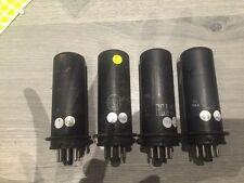 L Matched Quad RCA 6L6 metal Tubes for amplifiers 6L6G
