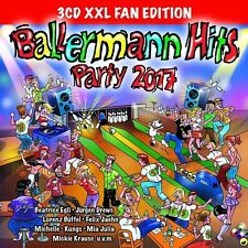 BALLERMANN HITS PARTY 2017 XXL FAN EDITION ( Dorfrocker, Jürgen Drews) 3 CD NEU