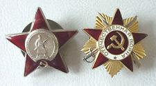 Orden des Roten Sterns und Orden Vaterländischer Krieg, UdSSR, CCCP,