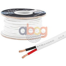 100 FT Feet True 18 GA Gauge AWG Speaker Wire Cable Car Home Audio 2 Conductor