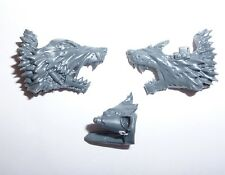 Warhammer 40K Space Wolves Thunderwolf Cavalry Wolf Head – Y084