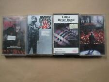 Four cassettes: John Farnham, Jimmy Barnes, Little River Band