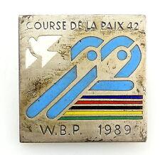 #e5663 DDR - Anstecknadel - course de la paix 42 - 1989 Friedensfahrt
