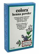 Colora Henna Powder Hair Color Gold Brown, 2 oz (Pack of 2)