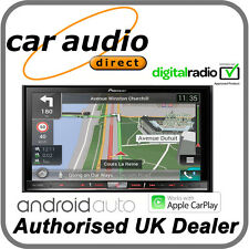 "Pioneer AVIC-F80DAB - 7"" Double Din DAB, Bluetooth, Navigation, Apple CarPlay"