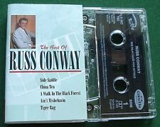 Russ Conway Best Of inc A Walk In the Black Forest + Cassette Tape - TESTED
