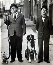 LAUREL AND HARDY 8X10 GLOSSY PHOTO PICTURE