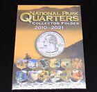 National Park Quarter Coin Collecting Album 2010-2021 Includes Historic Sites