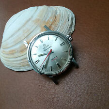 Vintage Titoni Airmaster Compressor Divers/Diving Watch w/Cross-Hatched Crown