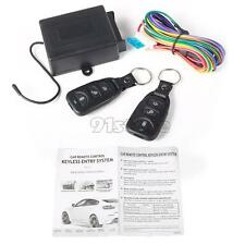 Universal Car Central Door Locking Keyless Entry System + 2 Remote Control SR1G