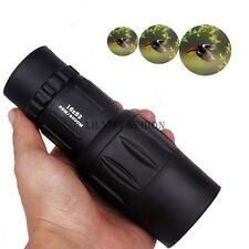 Night Vision 16x52 HD Optical Monocular Travel Hunting Camping Hiking Telescope