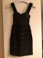H&M CONSCIOUS TREND DIVIDED BLACK LACE DRESS BUSTIER 2/32 NWT FINAL DAYS SOLD