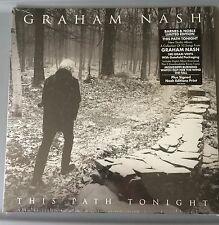 GRAHAM NASH THIS PATH TONIGHT LP VINYL  EXCLUSIVE SIGNED PRINT BARNES & NOBLE