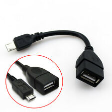 Micro USB Host Cable Male to USB Female OTG Adapter Android Tablet PC Phones New