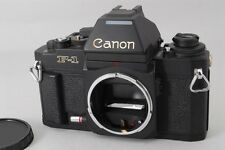 EXCELLENT++++ Canon New F-1 AE 35mm SLR Camera Black Body from japan #410