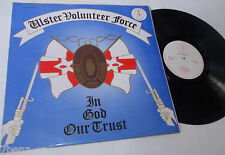Ulster Volunteer Force   in god our trust       vg+