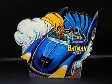 vintage BATMOBILE 45 rpm record diecut picture sleeve PS 1966 UNUSED 7 in Batman