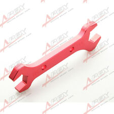 AN -10 AN10/ AN -8 AN8 Double Ended Wrench Spanner CNC Billet Aluminum Red