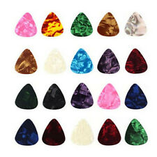 10X  Acoustic Bulk Celluloid Electric Colored Smooth Guitar Pick Picks Plectrum