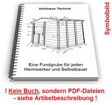 Holzhaus selbst bauen - Holzhäuser Technik Patente Patentschriften