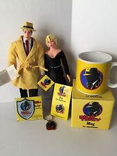 Dick Tracy Breathless Madonna Lot- Dolls, Mug, Pin, Key Chain, Badge NEW!