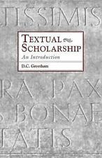 Textual Scholarship: An Introduction Garland Reference Library of the Humanitie