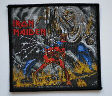 Iron Maiden The Number of the Beast Patch heavy metal rock leather denim jacket