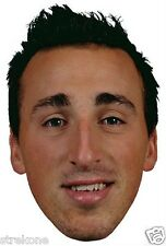 Boston Bruins NHL Player BRAD MARCHAND Big Head Window Cling Sticker Decal - NEW