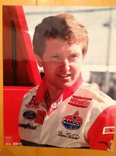Bill Elliott Glossy Picture NASCAR BUDWEISER PHOTO FILE 8 X 11 Race Car Original