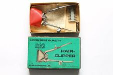 Antique Hair Clipper LIONS BEST QUALITY Germany 1930`s With Box