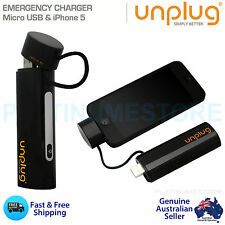 External Portable Battery Charger 2600mAh iPhone 5s Power Bank Micro USB Adapter