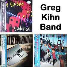 "3x ""NM Wax""2x見本品 Sample Greg Kihn Band Kihntagious Citizen Love Rock Roll Japan"