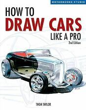 How to Draw Cars Like a Pro, 2nd Edition (Motorbooks Studio), Hallett, Lisa, Tay