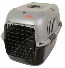 Well Ventilated, Easy Clean Pet Carrier, With Clip On Bowl RAC (A GRADE)