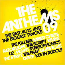 THE ANTHEMS 09 NEW AND SEALED 2 CD KILLERS,U2,STONE ROSES,KEANE,OASIS AND MORE