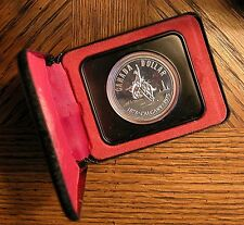 1975 Canadian Silver Proof Specimen One Dollar - Calgary Anniversary 1875-1975