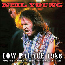 NEIL YOUNG New 2017 UNRELEASED 'FRISCO LIVE 1986 LIVE CONCERT 2 CD SET