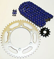 2001 2002 2003 2004 2005 2006 YAMAHA WR250 F BLUE CHAIN AND SPROCKET 13/52 114L