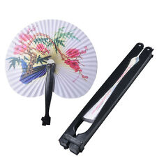 New Paper Hand Fan Folding Wedding Party Favor Decoration Colorful FREE SHIP HF