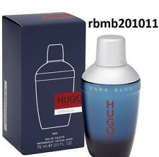 Hugo Dark Blue by Hugo Boss for Men Eau De Toilette 2.5 oz 75 ml Spray